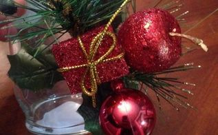 simple and cheap candle holder, christmas decorations, crafts, seasonal holiday decor, My cute arrangement