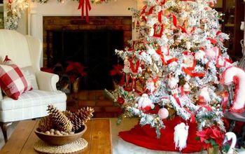 photos with santa christmas tree, christmas decorations, crafts, seasonal holiday decor