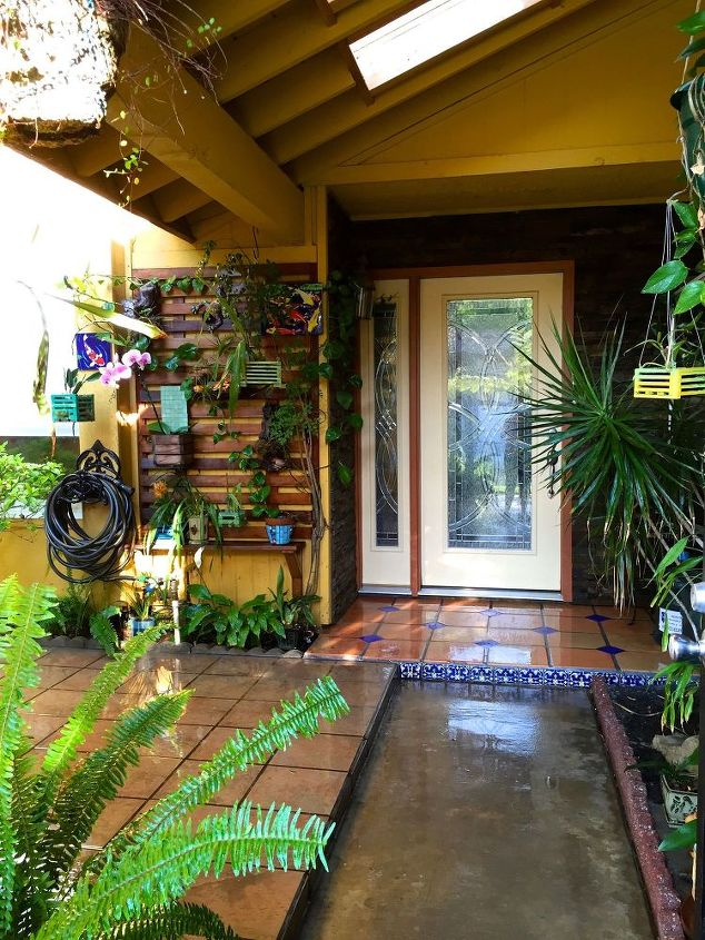 building a vertical orchid garden wall, diy, flowers, gardening, landscape, ponds water features