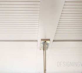 How To Cover Popcorn Ceiling With Beadboard Planks Diy, Diy, Home  Improvement, How