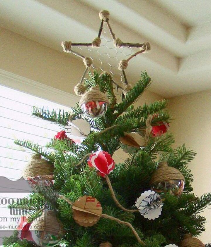 upcycled and thrifty christmas diy projects, christmas decorations, crafts, seasonal holiday decor