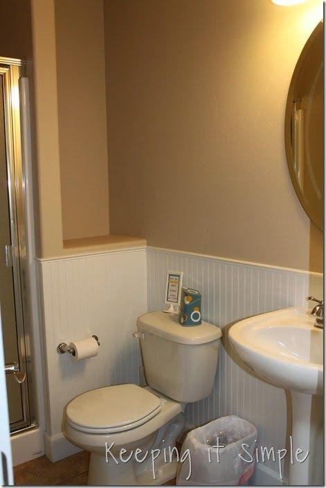 DIY Shelves for a Small Bathroom #DIY #Buildit | Hometalk