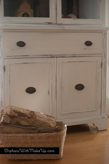 rustic farmhouse china cabinet, painted furniture, rustic furniture