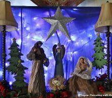creating a nativity on the mantel, christmas decorations, fireplaces mantels, seasonal holiday decor