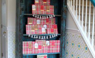 book a day advent calendar, christmas decorations, entertainment rec rooms, seasonal holiday decor, shelving ideas