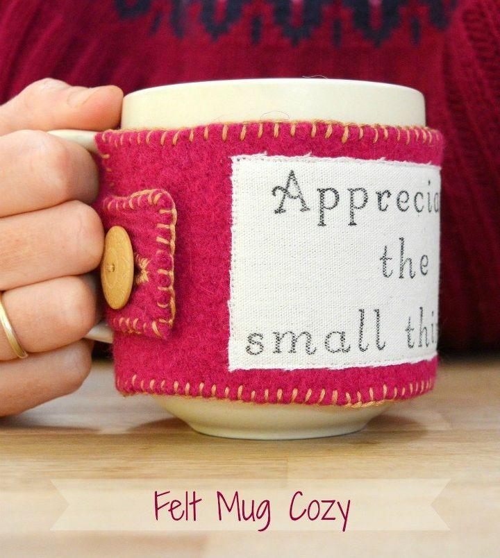 diy mug cozy, crafts