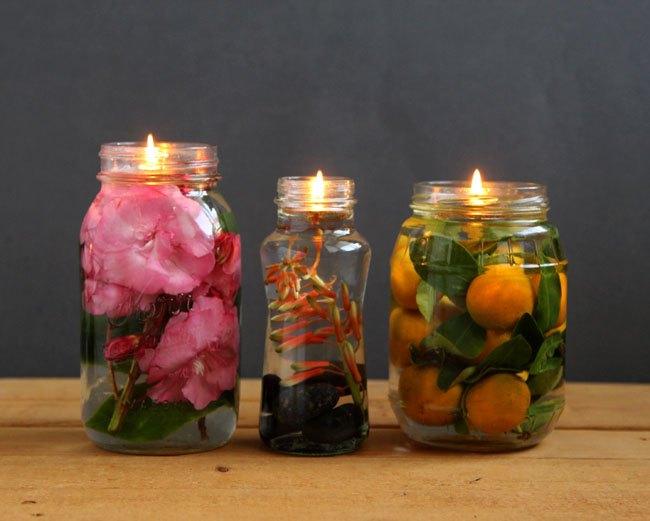 diy mason jar oil lamps crafts lighting mason jars repurposing upcycling - Mason Jar Diy