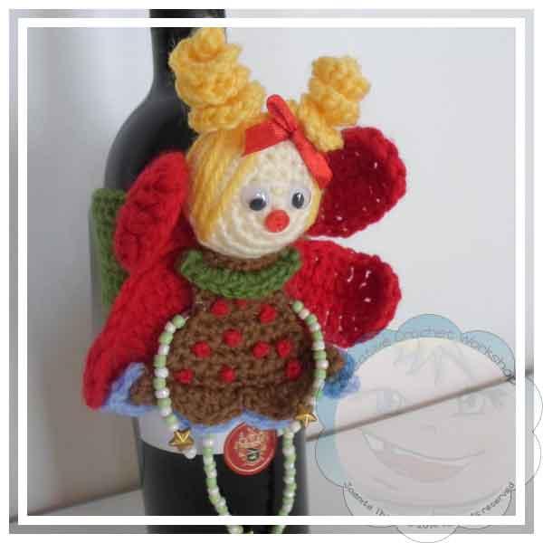 Crochet Fairy Wine Bottle Cozy Hometalk