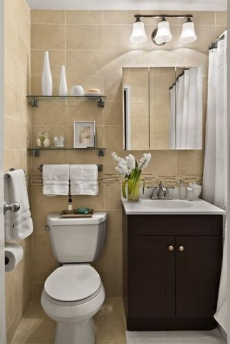 shelves can be in any colour you want in wood glass painted or not you have lots of choices - Bathroom Ideas Cream