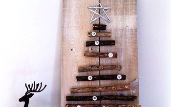 Nordic Inspired Twig Christmas Tree