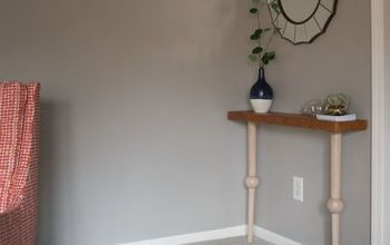 diy console table, diy, painted furniture, woodworking projects