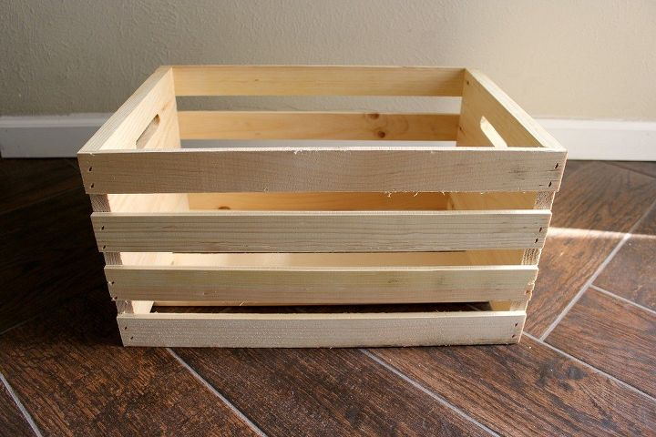 holiday crate where organization meets decoration chalk paint christmas decorations how to - Wooden Crates Hobby Lobby