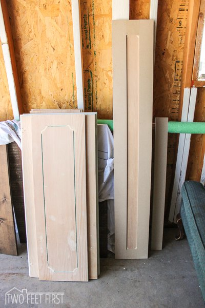 Update Cabinet Doors to Shaker Style for Cheap | Hometalk
