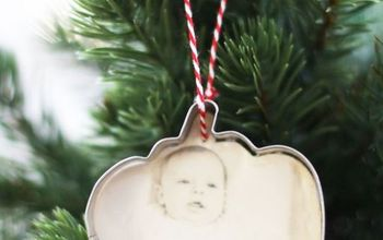 Cookie Cutter Ornaments With Old Photos