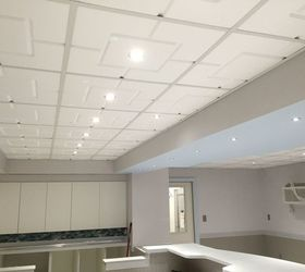 Beautiful Doggie Daycare Renovation With Foam Ceiling Tiles, Home Improvement, Wall  Decor