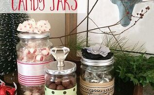 handmade decorative candy jars, crafts