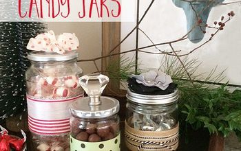 Handmade Decorative Candy Jars