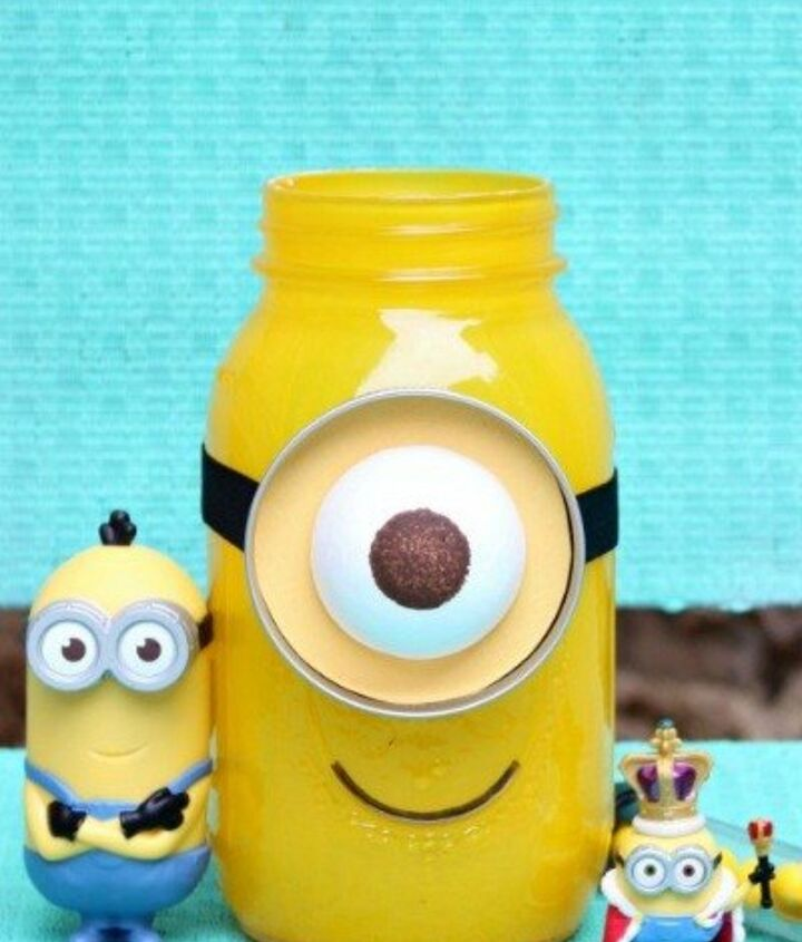 s 23 perfect mason jar gifts for everyone on your list, christmas decorations, crafts, mason jars, For a Cartoon Addict