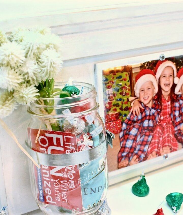 s 23 perfect mason jar gifts for everyone on your list, christmas decorations, crafts, mason jars, For Your Doting Grandma