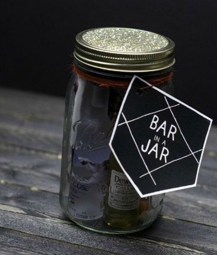 s 23 perfect mason jar gifts for everyone on your list, christmas decorations, crafts, mason jars, For Your Favorite Gentleman