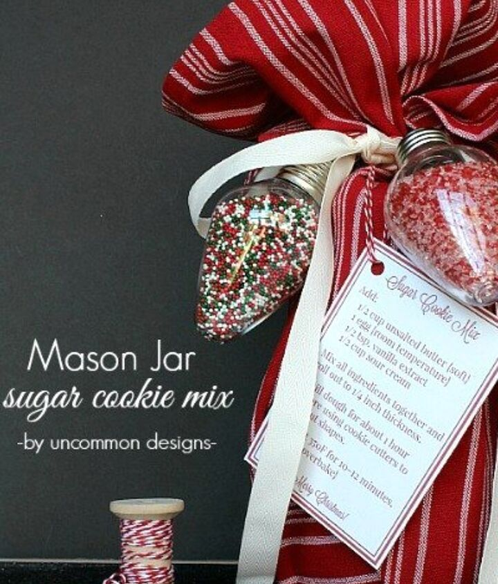 s 23 perfect mason jar gifts for everyone on your list, christmas decorations, crafts, mason jars, For the Neighbors