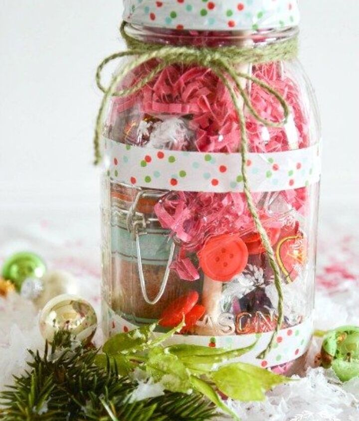 s 23 perfect mason jar gifts for everyone on your list, christmas decorations, crafts, mason jars, For a Devoted Tea Drinker