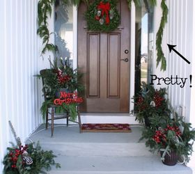 affordable natural christmas front porch decor christmas decorations porches seasonal holiday decor & Affordable \u0026 Natural Christmas Front Porch Decor   Hometalk