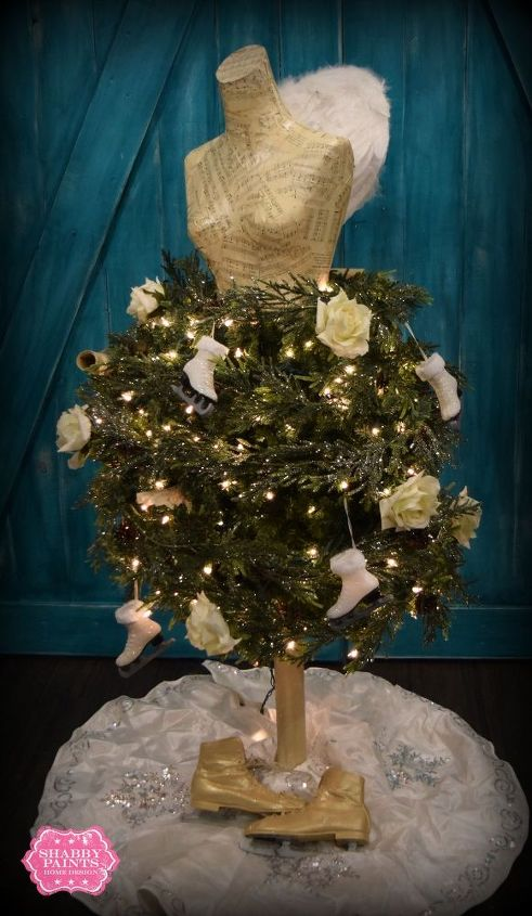 Dress Form Christmas Tree.Dress Form Christmas Tree 2015 Hometalk