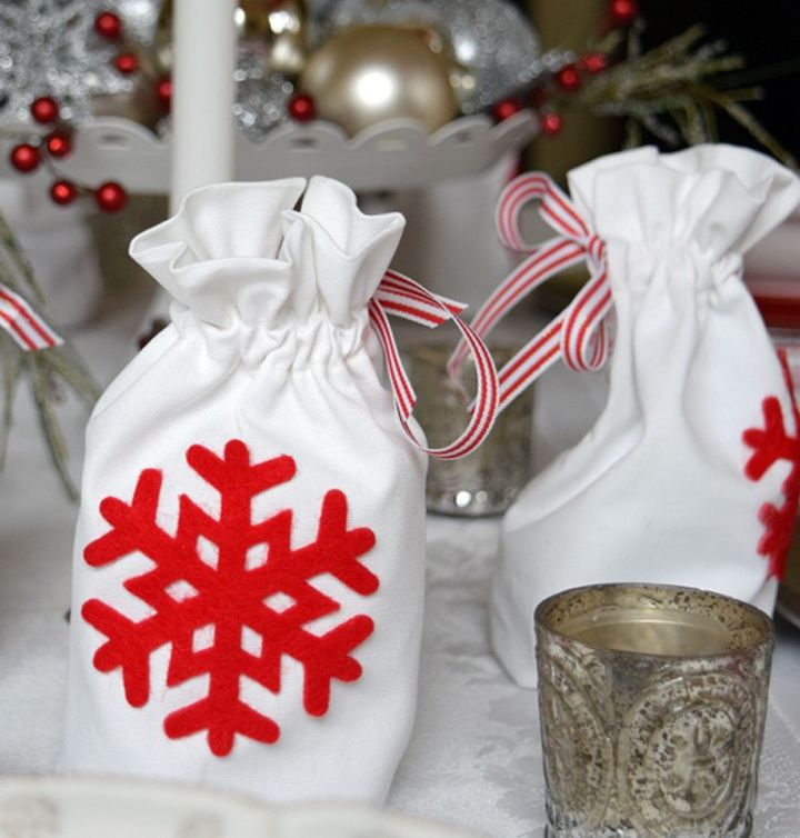 Ornament Gift Bags  Christmas Traditions  Hometalk