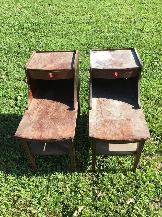 Old Dirty End Tables | Hometalk
