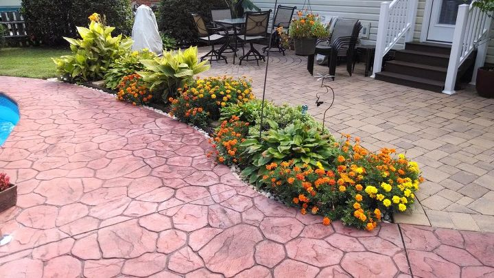 garden mulch beds mulch washing away drainage solution for patio, decks, landscape, outdoor living, patio, pool designs
