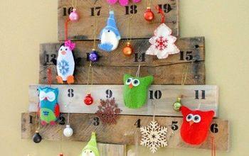 Pallet Christmas Countdown Tree