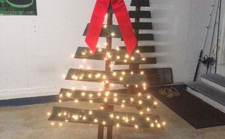 diy christmas decor, christmas decorations, crafts, pallet, seasonal holiday decor