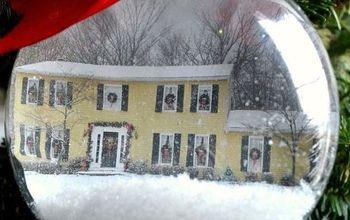 home for the holidays photo christmas ornament, christmas decorations, home decor, seasonal holiday decor