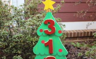 diy scrap wood christmas tree address sign, christmas decorations, crafts, seasonal holiday decor