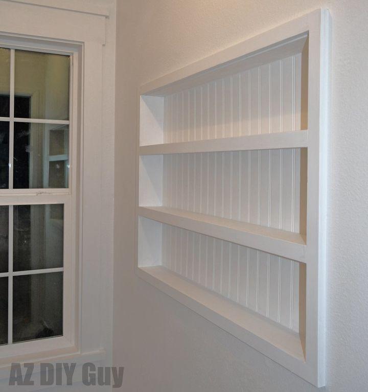 Built In The Wall Shelving Reclaiming Hidden Storage E Bedroom Ideas Closet Diy
