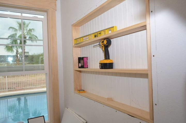 Built In The Wall Shelving Reclaiming Hidden Storage Space Hometalk