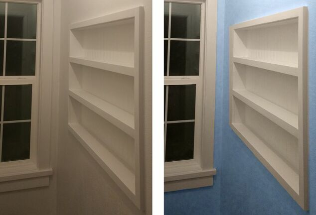 Built-in-the-Wall Shelving - Reclaiming Hidden Storage Space | Hometalk