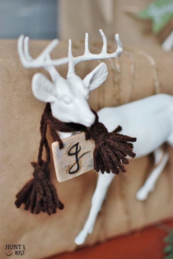 wrapping your gift with a gift, christmas decorations, crafts, seasonal holiday decor
