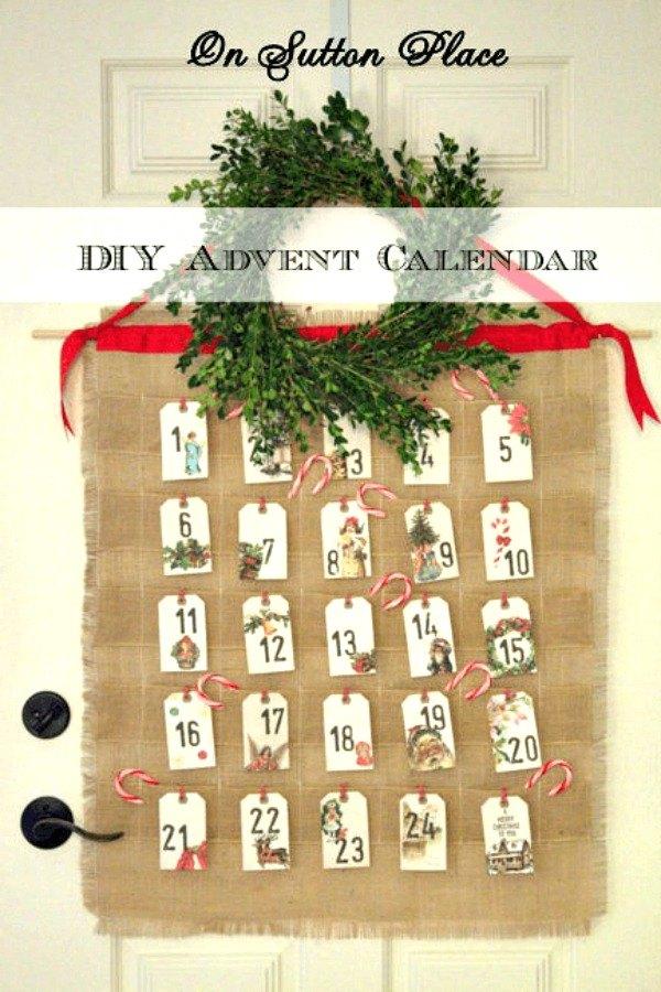 Calendar Decoration Ideas : Fresh advent calendar ideas to start right away hometalk
