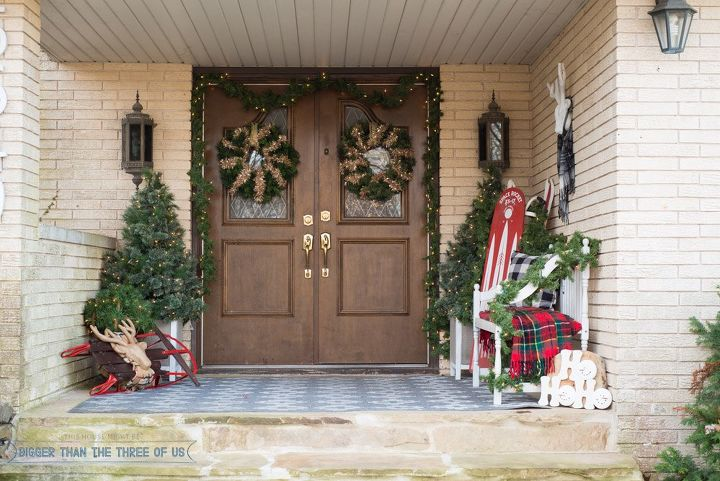 front porch christmas decor christmas decorations curb appeal porches seasonal holiday decor