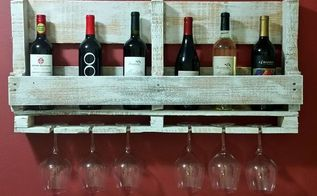 pallet wine rack, pallet, woodworking projects