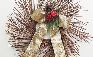 how to make bows for your christmas tree, christmas decorations, crafts, seasonal holiday decor