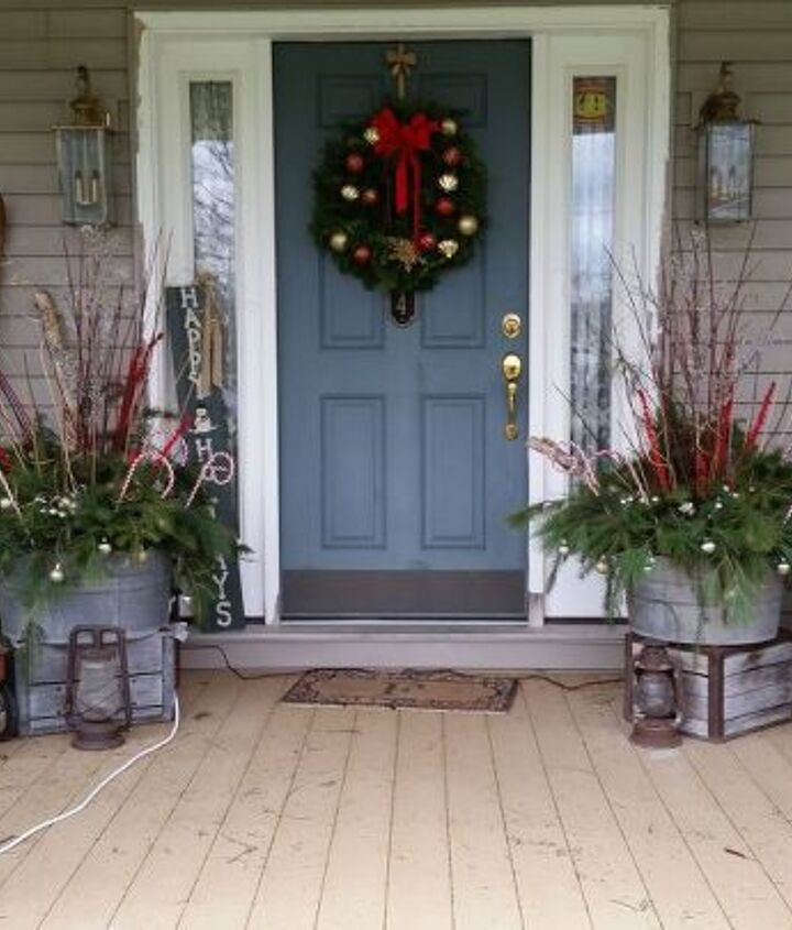 Front porch 2015