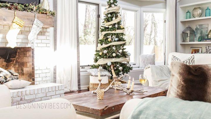 My Rustic Glam Christmas Home Tour | Hometalk