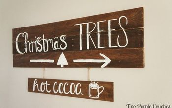 DIY Hot Cocoa Sign