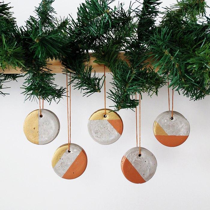 how to make christmas concrete ornaments, christmas decorations, concrete masonry, crafts, how to, seasonal holiday decor