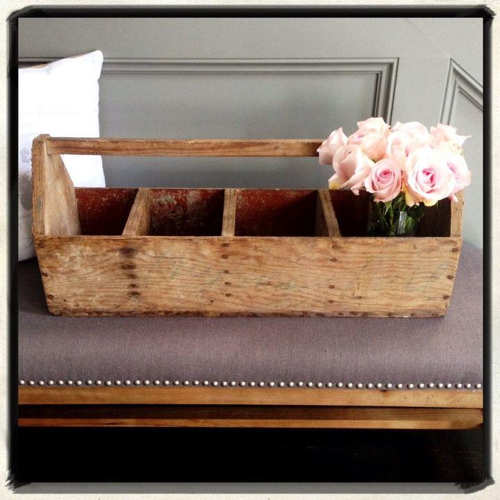 thrifty vintage toolbox christmas centerpiece, christmas decorations, crafts, diy, seasonal holiday decor
