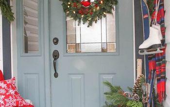Merry Christmas Home Tour - Porch and Entry