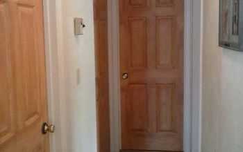 Watch How I Make My Cheap Builder Grade Doors Look Like Wood Doors